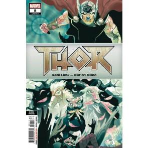 Thor (2018) #8 (#714) VF/NM Del Mundo 2nd Printing Variant Cover
