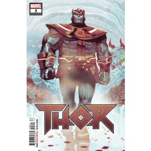 Thor (2018) #3 (#709) VF/NM Mike Del Mundo Thanos 2nd Printing Variant Cover