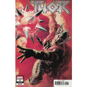 Thor (2018) #2 (#708) VF/NM 1:25 Mike Deodato Variant Cover