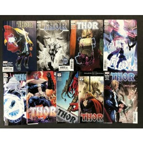 Thor (2020) #s 1 2 3 4 5 6 7 8 9 1st 2nd 3rd 4th 5th 6th Print Lot 9 Books Cates