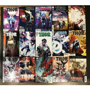 Thor (2020) #s 1 2 3 4 5 6 7 8 1st 2nd 3rd 4th Printing Lot 15 Books Donny Cates