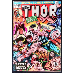 THOR #222 VF SIDE BY SIDE WITH HERCULES