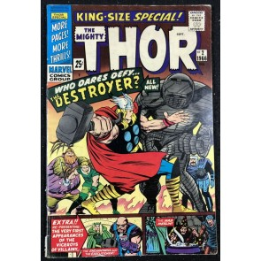 Thor Annual (1966) #2 FN (6.0) new Kirby Destroyer cover