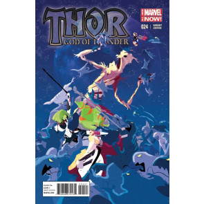 THOR: GOD OF THUNDER (2013) #24 VF/NM GOTG VARIANT COVER MARVEL NOW!