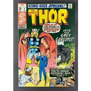 Thor King-Size Special (1966) #3 FN (6.0) Jack Kirby Cover