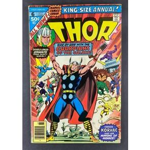 Thor King-Size Special (1966) #6 VG (4.0) Korvac Origin John & Sal Buscema Art