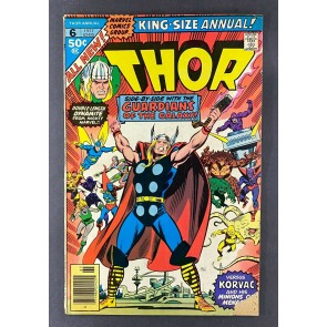 Thor King-Size Special (1966) #6 VG (4.0) Korvac Origin John & Sal Buscema
