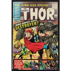 Thor King-Size Special (1966) #2 FN/VF (7.0) 1st App World Giants Jack Kirby