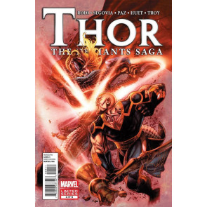 THOR: THE DEVIANTS SAGA #4 OF 5 VF/NM