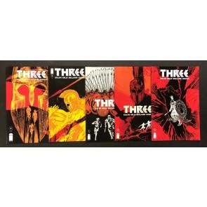 Three (2013) #'s 1 2 3 4 5 Complete VF/NM-NM Set Image Comics