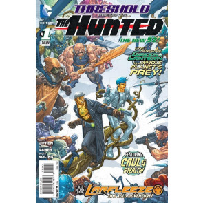 THRESHOLD PRESENTS: THE HUNTED (2013) #1 VF/NM THE NEW 52!