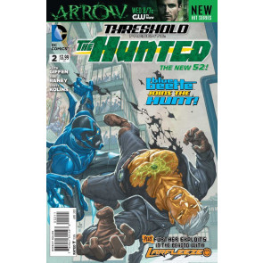 THRESHOLD PRESENTS: THE HUNTED (2013) #2 VF+ THE NEW 52!