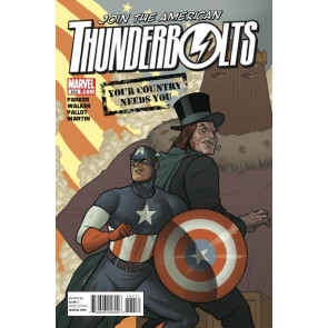 THUNDERBOLTS #164 NM CAPTAIN AMERICA APP