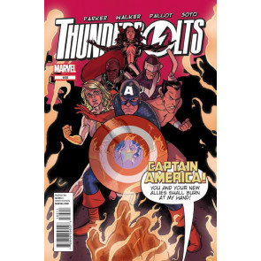 THUNDERBOLTS #165 NM CAPTAIN AMERICA