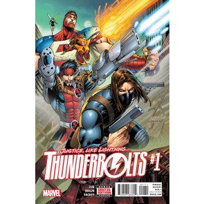 Thunderbolts (2016) #1 VF/NM Regular Cover