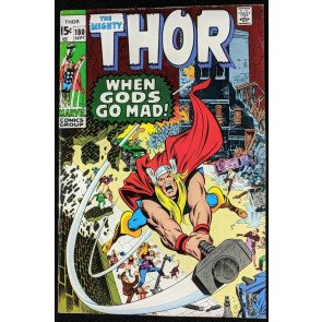 Thor (1966) #180 FN+ (6.5) Mephisto and Loki app Neal Adams art
