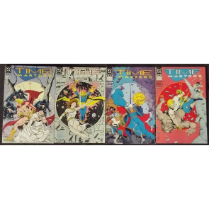 TIME MASTERS (1990) #'s 1, 2, 3, 4, 5, 6, 7, 8 COMPLETE VF-VF/NM SET RIP HUNTER