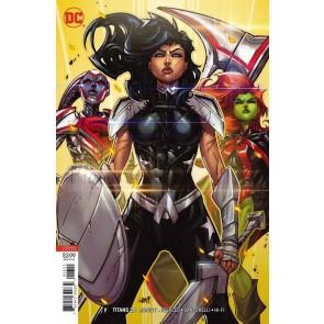 Titans (2016) #26 VF/NM Jonboy Meyers Variant Cover DC Universe