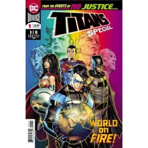 Titans Special (2018) #1 VF/NM Brandon Peterson DC Universe