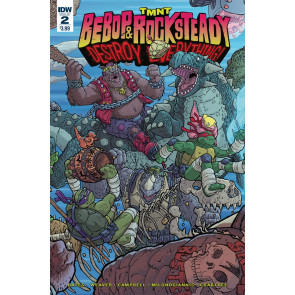 TMNT Bebop & Rock Steady Destroy Everything (2016) #2 VF/NM IDW