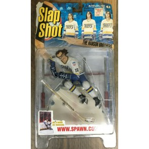 Todd McFarlane 1999 Complete Slap Shot Action Figure Set Jeff Hanson Brothers