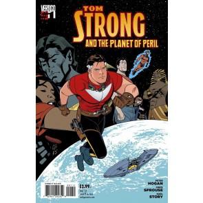 TOM STRONG AND THE PLANET OF PERIL #1 VF/NM VERTIGO