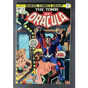 Tomb of Dracula (1972) #24 VG/FN (5.0) Rich Buckler Gene Colan Art