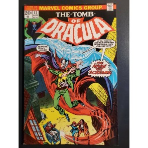 Tomb of Dracula 12 (1973) VF- (7.5) high grade 2nd app Blade|
