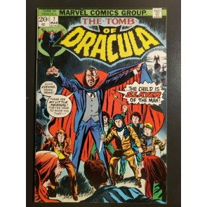 Tomb of Dracula 7 (1972) F (6.0) First appearance Quincy Harker key issue |