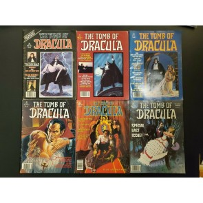TOMB OF DRACULA 1-6 (1979-1980) MAGAZINE MID GRADE SET GENE COLAN STEPHEN KING |
