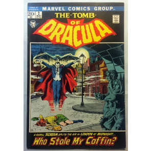 TOMB OF DRACULA (1972) #2 FN+ (6.5) Gene Colan pencils