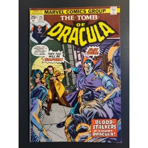 Tomb of Dracula #25 (1973) VF- (7.5) 1st appearance and origin of Hannibal King|