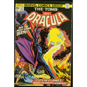 TOMB OF DRACULA #27 FN/VF GENE COLAN
