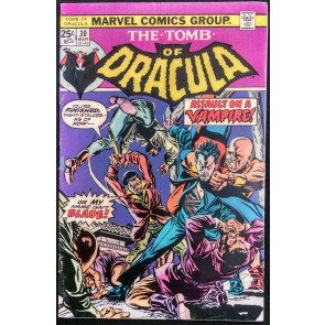 TOMB OF DRACULA #30 FN BLADE APPEARANCE GENE COLAN
