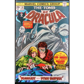 TOMB OF DRACULA #38 FN/VF GENE COLAN