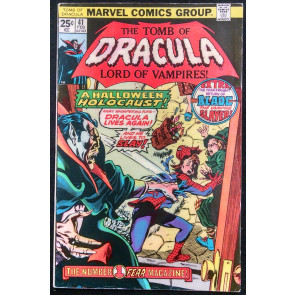 TOMB OF DRACULA #41 FN+ BLADE APPEARANCE GENE COLAN