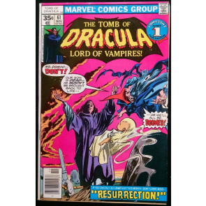 TOMB OF DRACULA #61 VF GENE COLAN