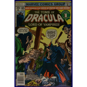TOMB OF DRACULA #65 VF- GENE COLAN
