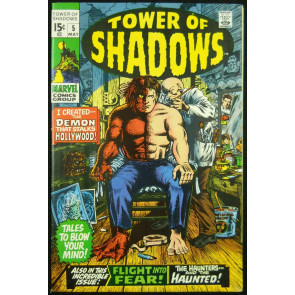 TOWER OF SHADOWS #5 VF BARRY SMITH WOOD ART