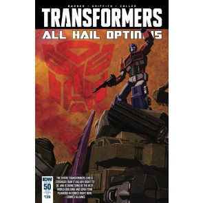 Transformers (2014) #50 VF/NM Cover B IDW