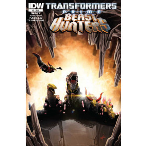 TRANSFORMERS PRIME: BEAST HUNTERS #2 VF/NM IDW