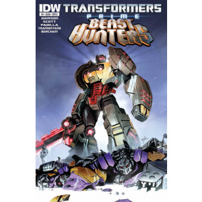 TRANSFORMERS PRIME: BEAST HUNTERS #4 VF/NM IDW