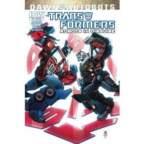TRANSFORMERS: ROBOTS IN DISGUISE #32 VF/NM IDW SUBSCRIPTION COVER