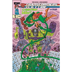 TRANSFORMERS VS. G.I. JOE (2014) #2 VF/NM IDW