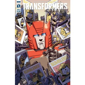 Transformers: Galaxies (2019) #5 VF/NM IDW