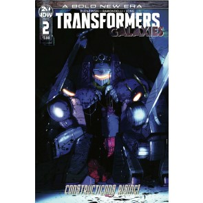 Transformers: Galaxies (2019) #2 VF/NM Livio Ramondelli Cover A IDW