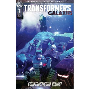 Transformers: Galaxies (2019) #1 VF/NM Cover A IDW