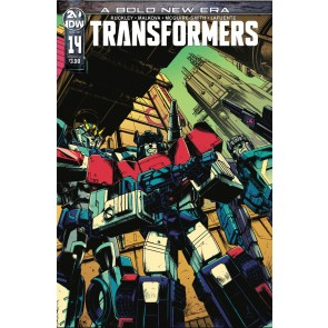 Transformers (2019) #14 VF/NM Kei Zama Cover A IDW