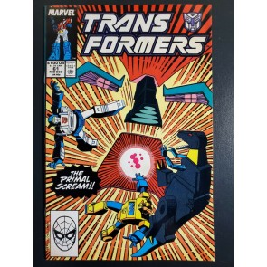 TRANSFORMERS #61 (1984) NM 9.4 1st appearance UNICRON |