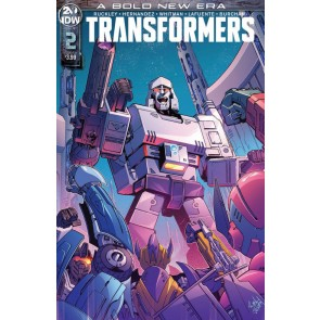 Transformers (2019) #2 VF/NM Ron Joseph Cover B IDW